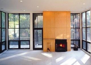 Landon Bone Baker Architects modern living room