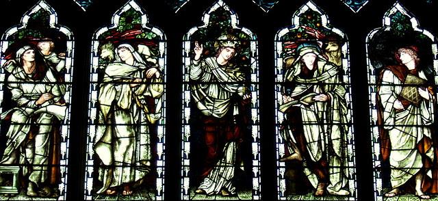 Salvator Mundi and the Evangelists