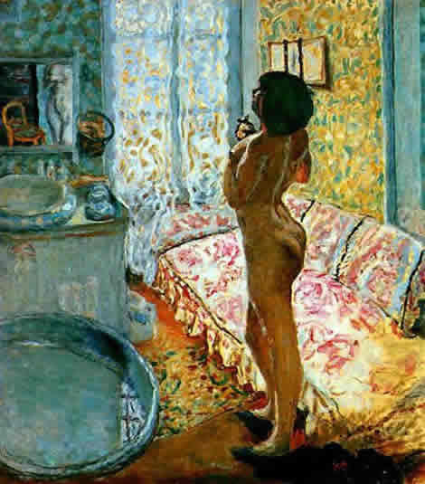 bonnard: nude against the light
