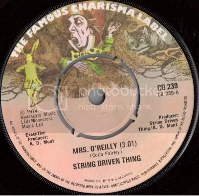 String Driven Thing - Mrs O'Reilly