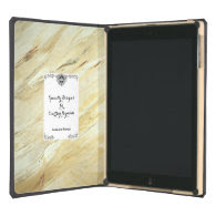 Specially Designed White Marble Plaster iPad Air Covers