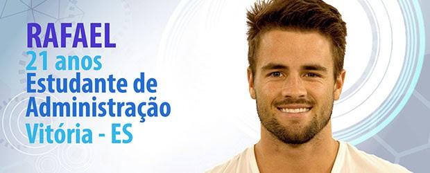 Rafael (Foto: BBB/Gshow)