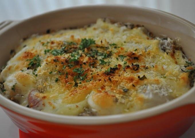 Recipe of Award-winning Satoimo (Taro Root) Cheese Gratin