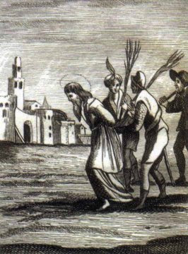 The Scourging of St Sabas