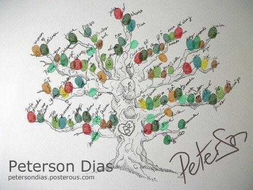Arvore de assinaturas para casamento, painel de assinaturas original, encomenda de quadro de assinaturas, signature tree Brasil