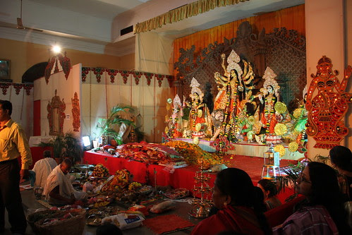 Bombay Durgabari Samiti Durga Puja Tejpal Hall 2012 by firoze shakir photographerno1