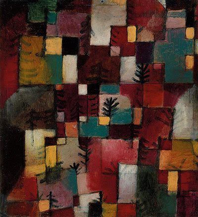 Paul Klee: Redgreen and Violet-Yellow Rhythms, 1920