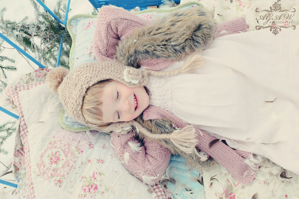 zima dzieci