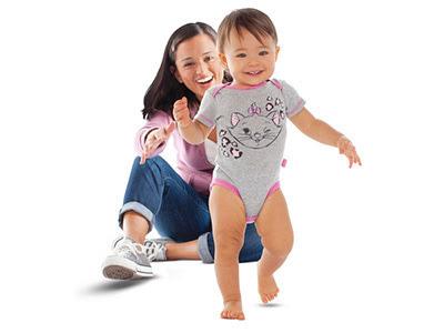 Resultado de imagen de pasos  de bebé