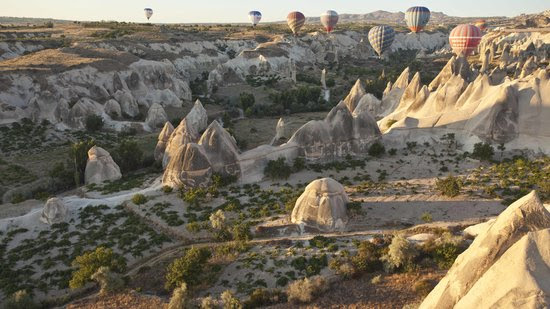Cappadocia, Turkey: Getting a close view