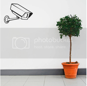 CCTV Camera Decal