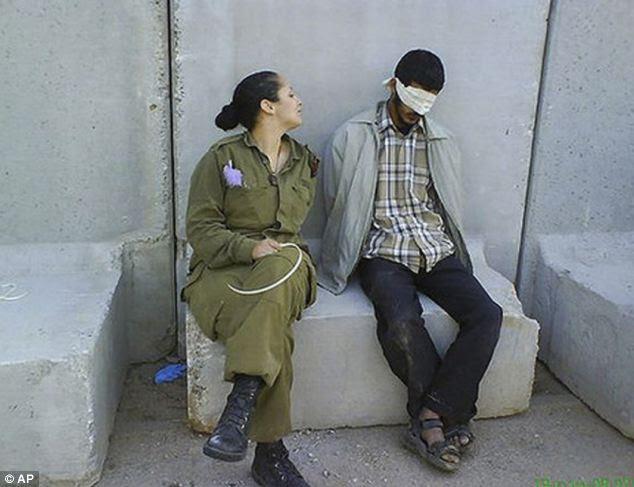 Tentara Israel Sadis