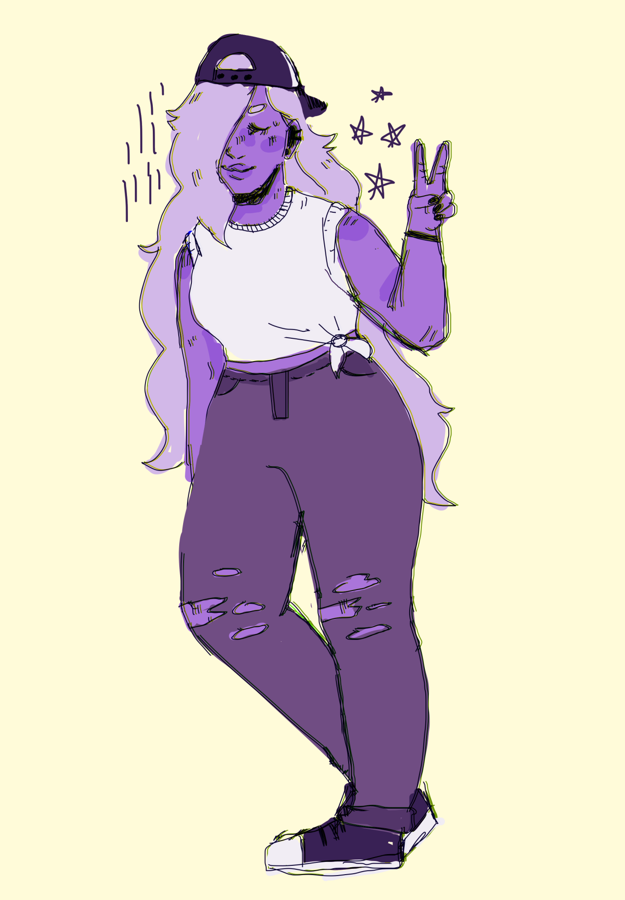 good news: i continue to be very gay 4 amethyst