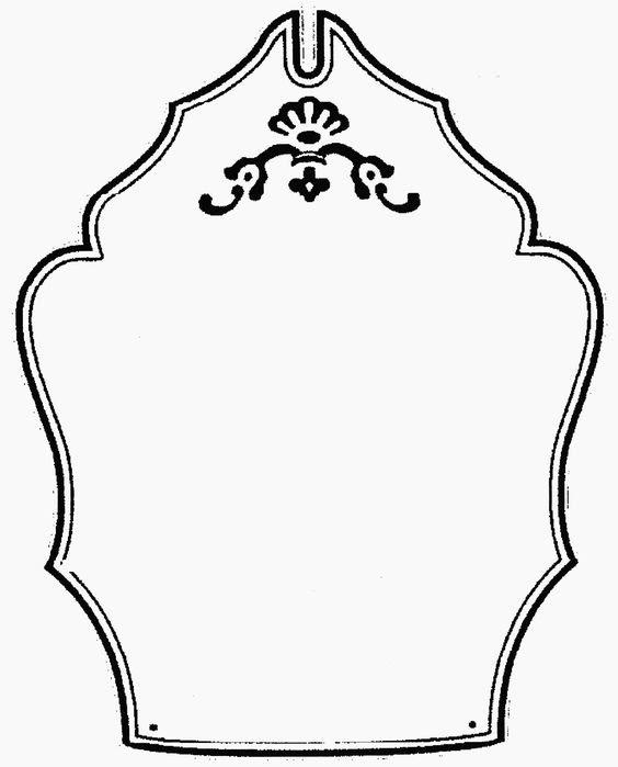 Blank Shield Logo: Blank Shield Template Clip Art, Free Clip Art ...