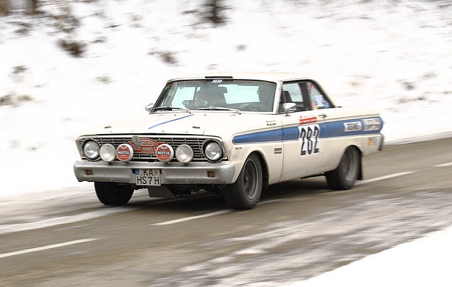 Monte-Carlo historique 2012-FORD FALCON SPRINT 1964