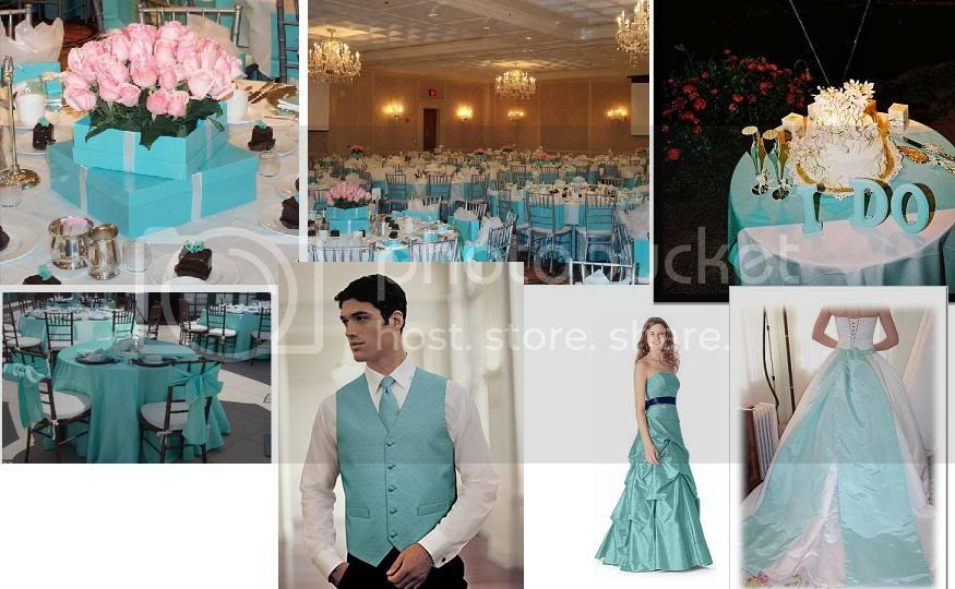 Here are some Color Inspirations for Tiffany Blue Color that I like