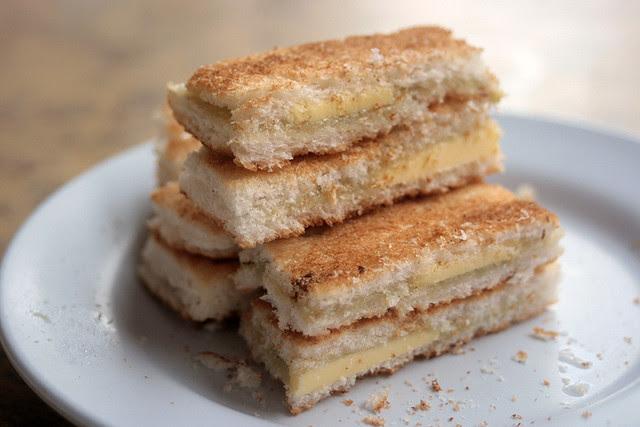 Tong Ah Extra Crispy Kaya Toast