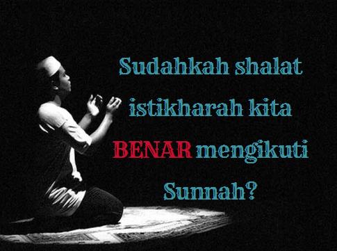 Tuntunan Shalat Istikharah | Niat, Doa, Waktu, Dan Tata ...