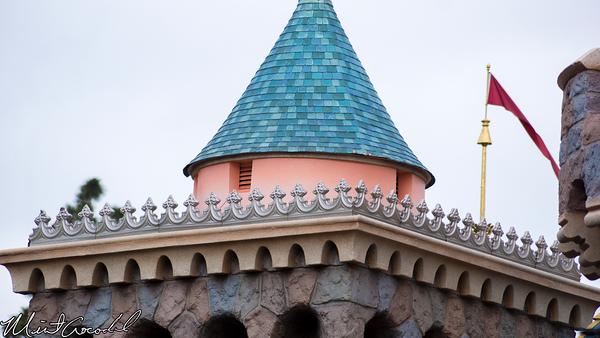 Disneyland Resort, Disneyland, Sleeping, Beauty, Castle, New, Paint, Disneyland60