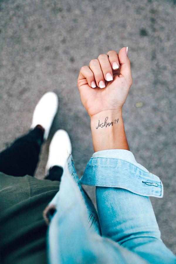 Joshua 19 Write Bold Ink