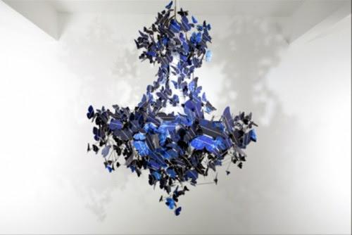 Virtue of Blue Chandelier