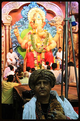 Shooting Lalbagh Chya Raja Visarjan 2013 by firoze shakir photographerno1