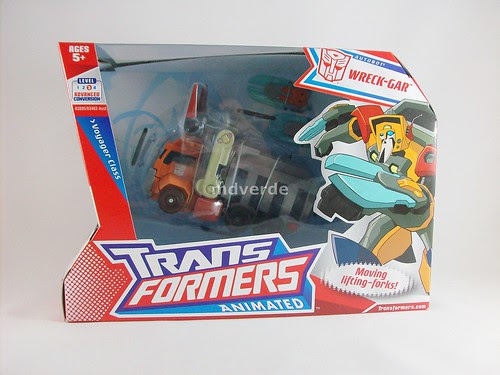 Transformers Wreck-Gar Animated Voyager - caja