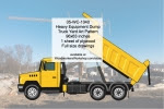 Heavy Equipment Dump Truck Yard Art Woodworking Pattern - fee plans from WoodworkersWorkshop® Online Store - heavy equipment,dump trucks,yard art,painting wood crafts,scrollsawing patterns,drawings,plywood,plywoodworking plans,woodworkers projects,workshop blueprints