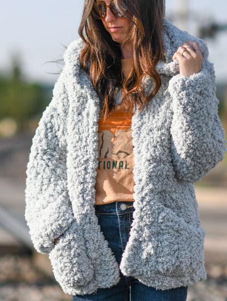 Crochet Kit - My Chunky Sherpa Coat