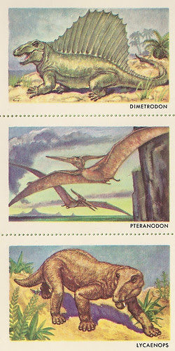 Sinclair Dinosaur Stamps Set 4