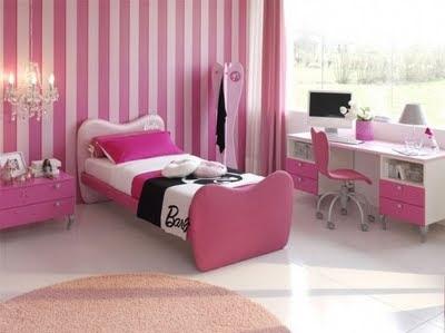 barbie, bedroom, cute, girls , pink