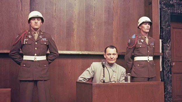 Goering and Hess Are Sentenced for War Crimes