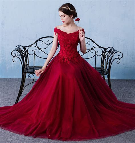 20  Gorgeous Red Wedding Dresses Designs ? WeNeedFun