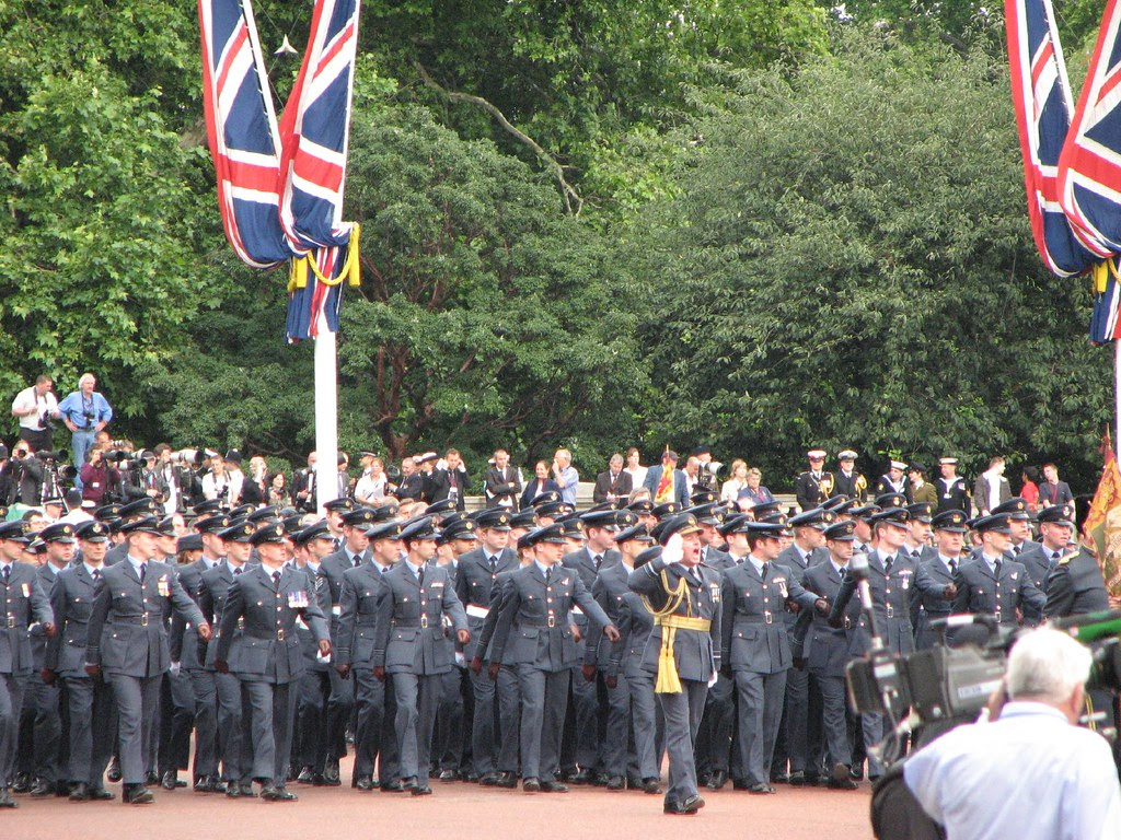The RAF on parade