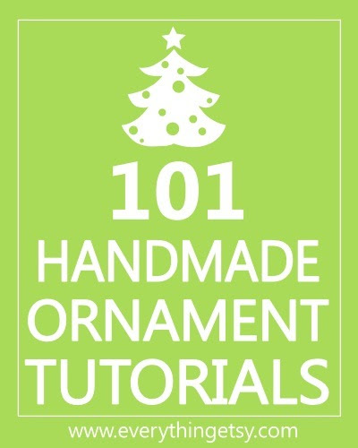 Get ready for the holidays with handmade ornaments!