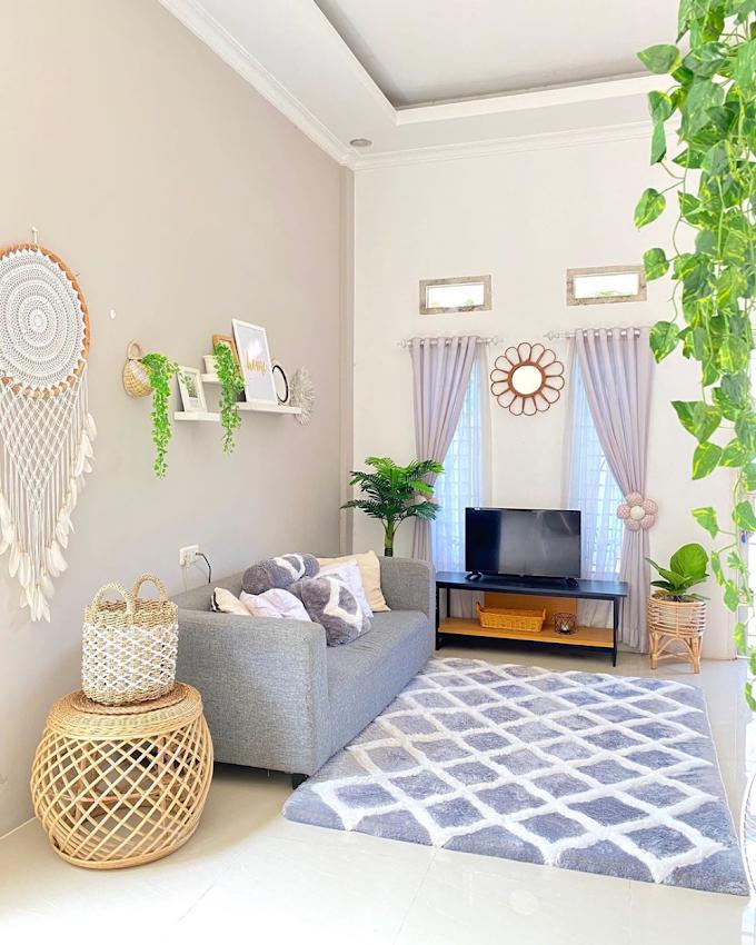 Wallpaper Tembok Ruang Tamu Minimalis | Ide Rumah Minimalis