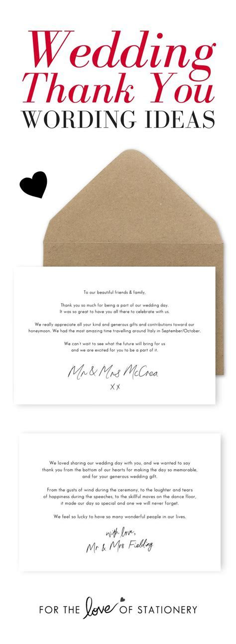 63 best Wedding Thank You Cards images on Pinterest
