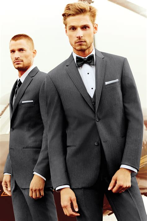 michael kors steel grey sterling wedding suit slim fit