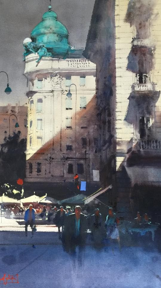 architectural water colors 11