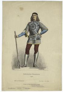 Italienischer Hauptmann, 1490. Digital ID: 811026. New York Public Library