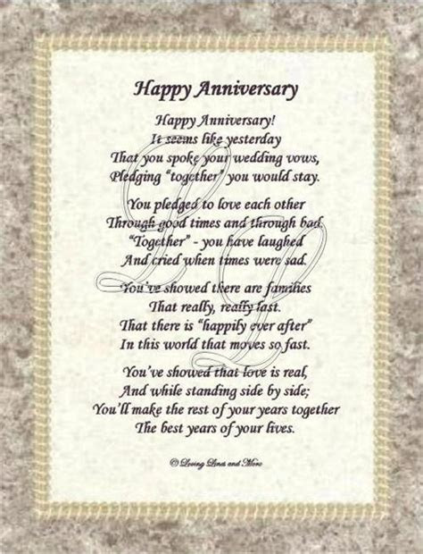 4th Wedding Anniversary Poems Pictures to Pin on Pinterest