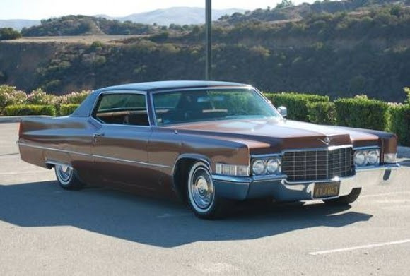 75k-mile 1969 Cadillac Coupe deVille   Bring a Trailer