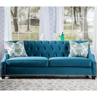 Blue Couches - Furniture Store