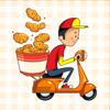 Kai Reun Leow - Smiley Deliveryman Stickers artwork