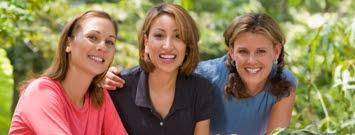 Photo: Three women