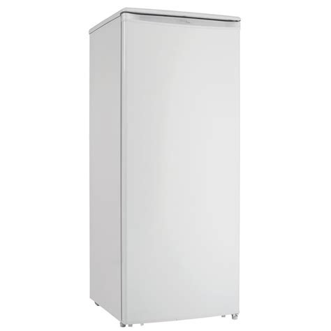 danby upright freezer  cu ft white rc willey