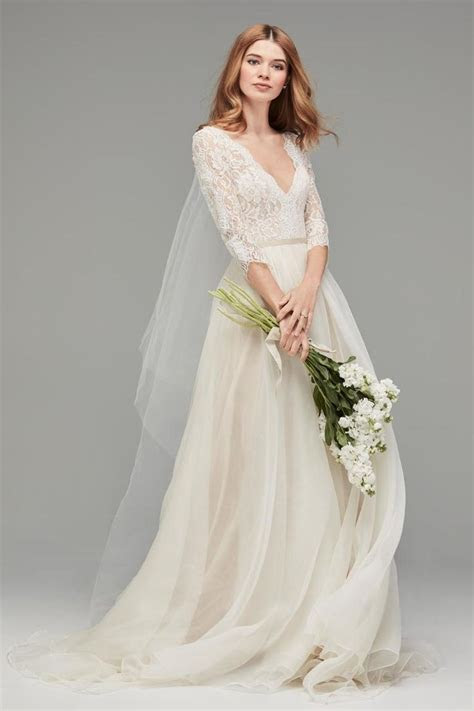 Best 25  Sleeve wedding dresses ideas on Pinterest   Long