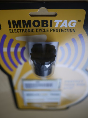 ImmobiTag cycle tag