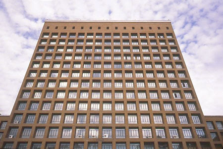 Cuerpo principal del Edificio Sindicatos