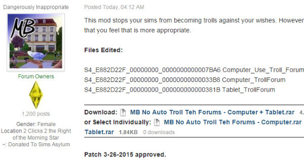 http://simsasylum.com/tfm/index.php?/topic/10633-mb-no-auto-troll-teh-forums/